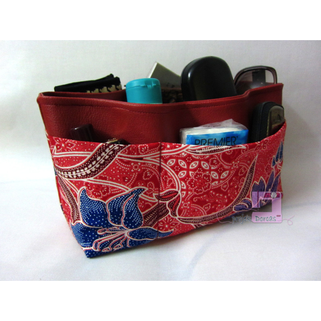 Bag Organizer (Handmade) - Red