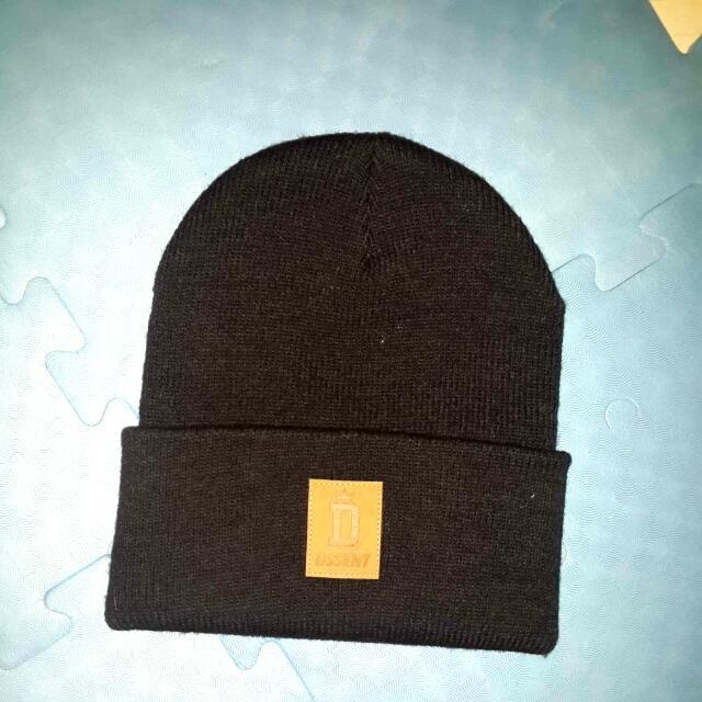 DSSENT黑色毛帽
