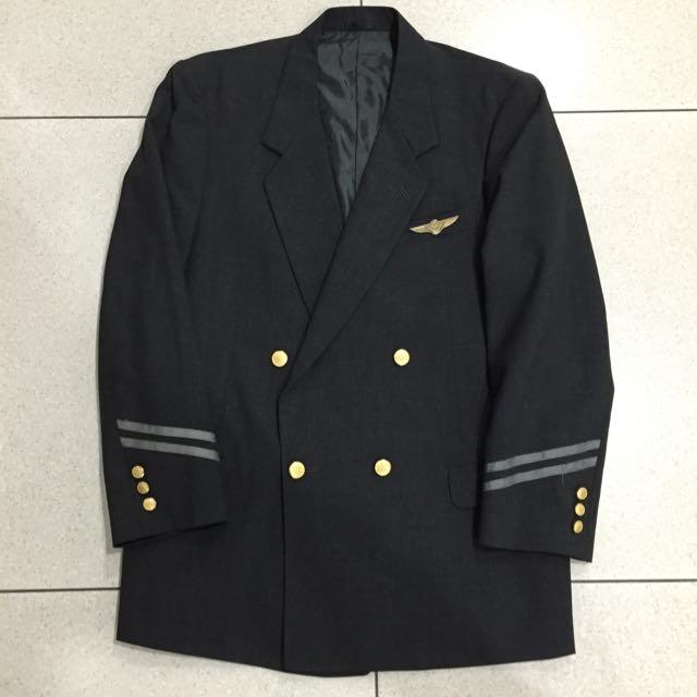 Original Vintage United Airlines Flight Officer Jacket With