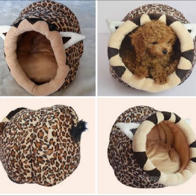 *On Sale* Pet Dog/Cat House - Leopard's Lair