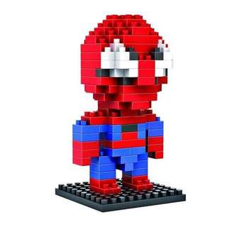Spiderman Lego Nanoblocks