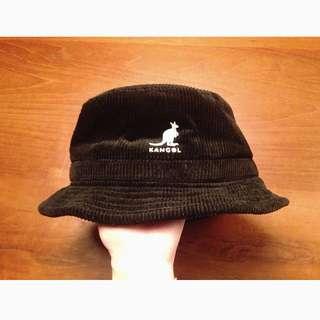 Kangol黑燈芯絨帽
