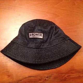 哪來的X-power牛仔漁夫帽