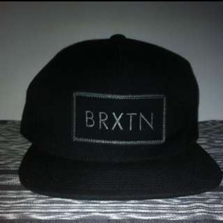 Brixton Rift Snapback (Black)