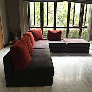 CELLINI L Shape Sofa