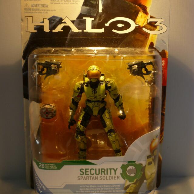 Macfarlane Toys Halo 3 Security Spartan