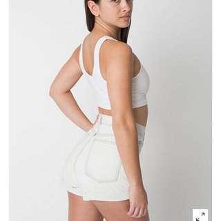 Authentic AA Light Wash Highwaisted Shorts