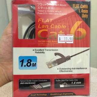 High quality 1.8m Ethernet LAN cable