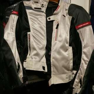 Jpn M Size Kominie Armoured Mesh Jacket For Sale