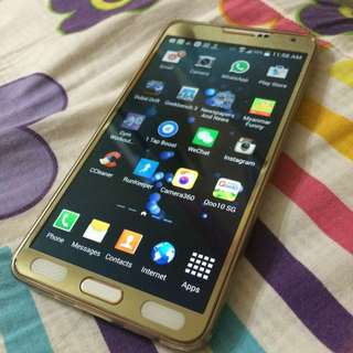 Note 3 Rose Gold White 32GB
