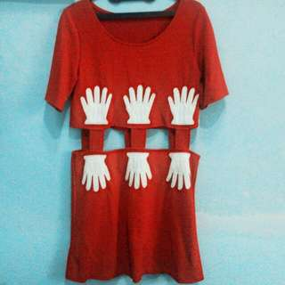 Mickey Hands Dress