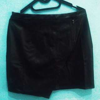 Gaudi Leather Skirt Size XL