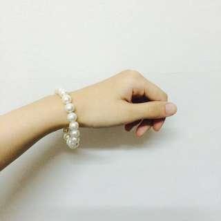 韓國飾品-白珍珠樣式