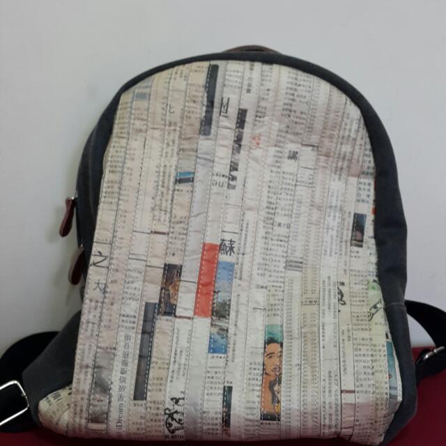 ⚫創意個性報紙包⚫