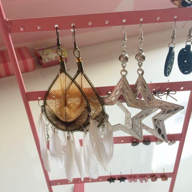 Earrings Galore!