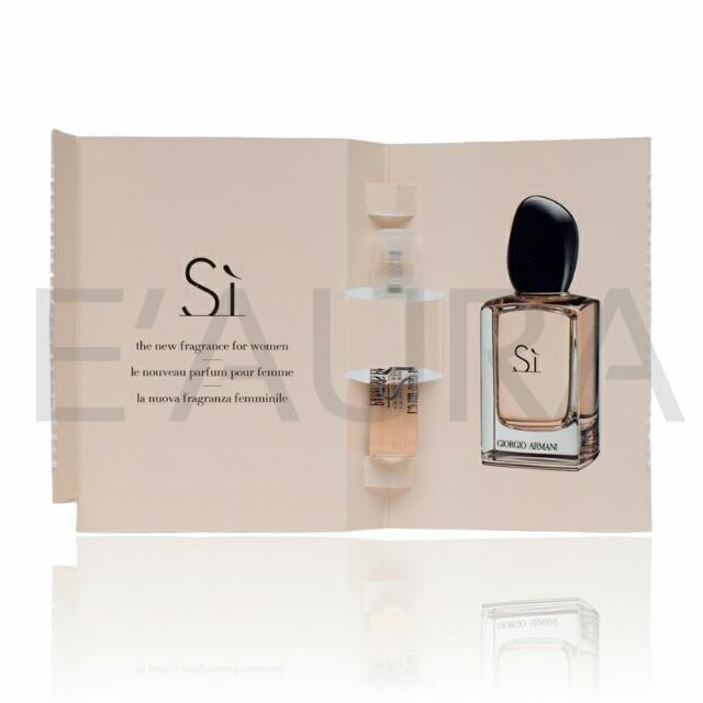 Eaura Perfume Giorgio Armani Si Edp Vial 12 Ml Womens Fashion On