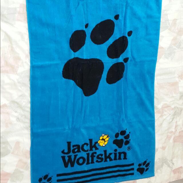 ~全新~「Jack wolfskin 浴巾」