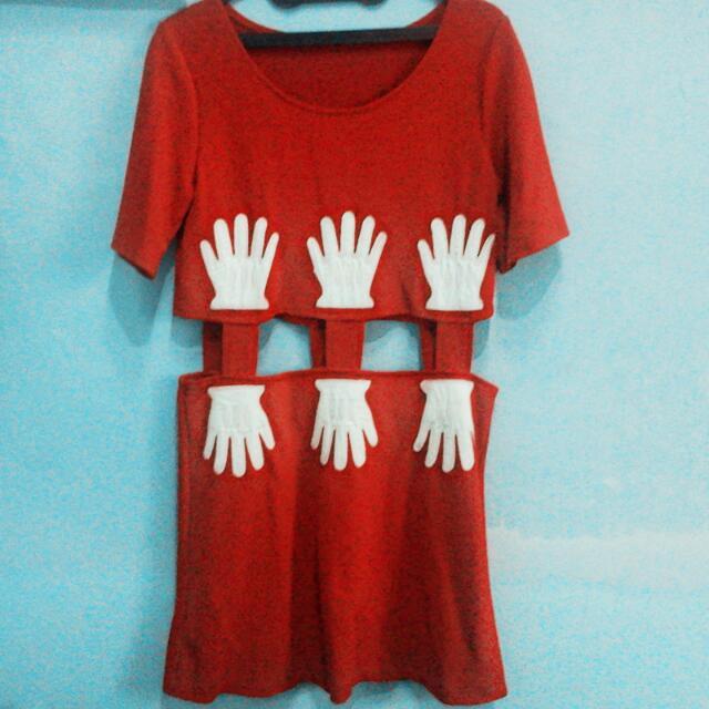 Mickey Hands Dress
