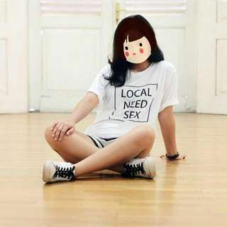 Plangtownstore Local Need Sex Tshirt