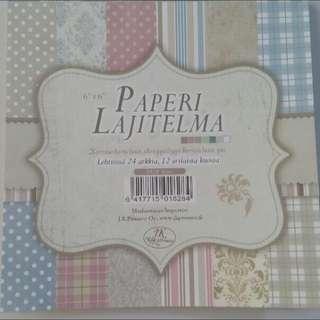 Square Scrapbook Paper