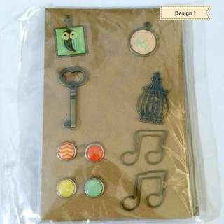 Brass Scrapbook Embellishment