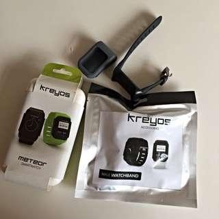 Kreyos Smart Watch Black