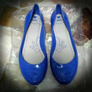 BN Authentic Jelly Bunny Blue Flats/pumps/shoes