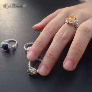 Citrine Milkyway Ring