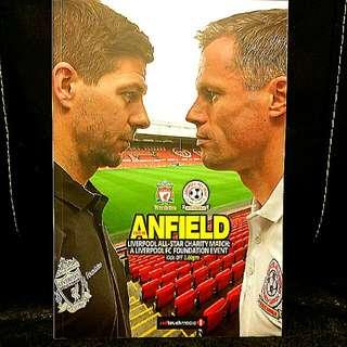 Liverpool All Star Charity Match Program