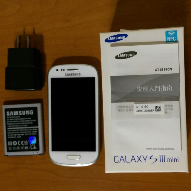 三星 Samsung S3 Mini 空機 白