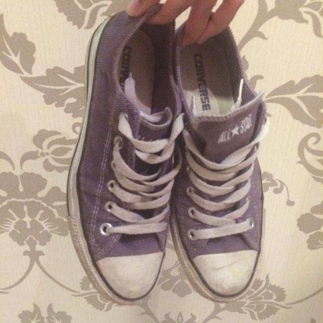 Converse 紫色 燈籠芯 帆布鞋