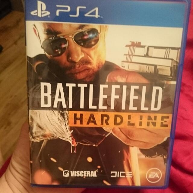 PS4 Code Unredeemed Battlefield Hardline Perfect Condition!!