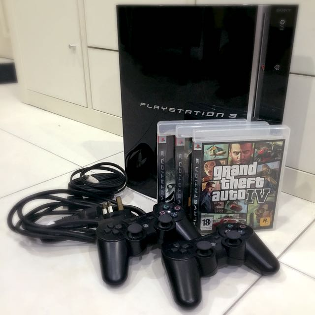 SONY PlayStation3 (PS3) 160Gb Black