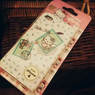 Hello Kitty Iphone4 Mobile Cover