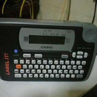 Casio label it kl-120