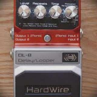 *Reserved*Digitech Hardwire DL-8 Delay/Looper