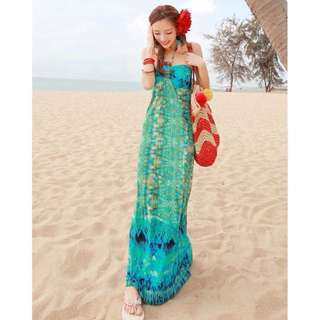 BN Tribal Beach Maxi Dress