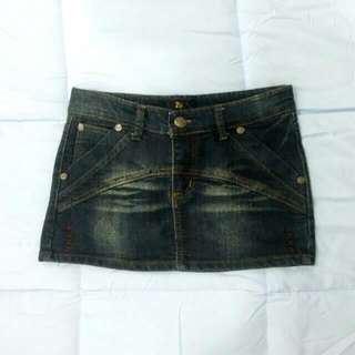 [BRAND NEW] Jeans Mini Skirt