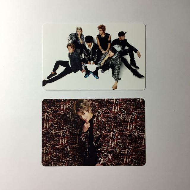 B A P / BAP No Mercy Type A Album W/ DaeHyun's or Group Photocard