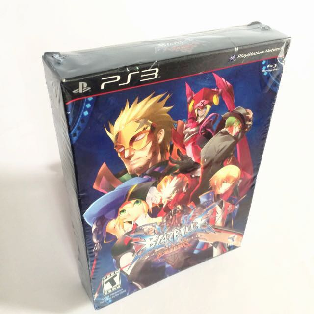 PS3 BLAZBLUE Continuum Shift Extend Limited Edition