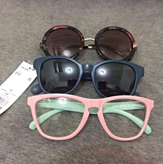 造型眼鏡GU