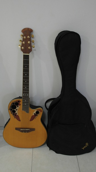 Handax Ovation Semi Acoustic Guitar Music Media On Carousell