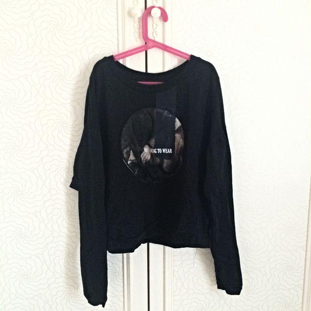 🙌🏼降價🙌🏼Zara 長袖 短版