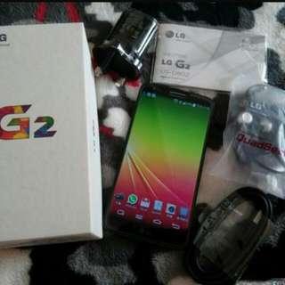 LG G2 Full Set With Box
