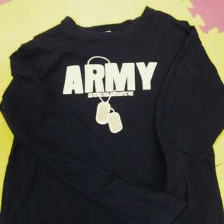 ARMY長袖T-shirt