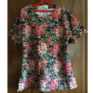 Warm Floral Tunic