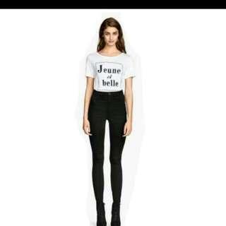 H&M Highwaist Jeans