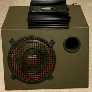 Woofer MTX 500w + Amp