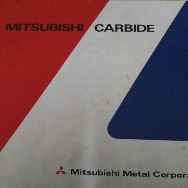 全新未用-日本三菱切腳刀片8英寸200mm (鎢鋼)