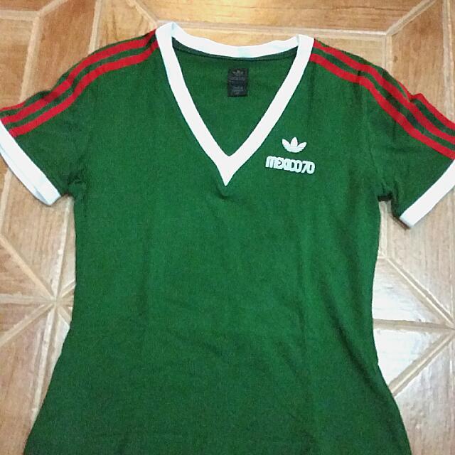 Tres Matemático humor  Adidas Retro Mexico 70 T Shirt (Reserved), Women's Fashion on Carousell